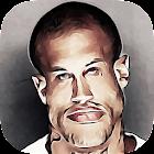 caricaturista - faccia buffa icon