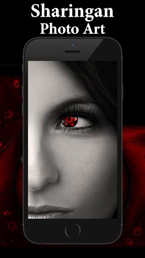 Sharingan Eye Sticker Art Design 1.00 screenshots 1