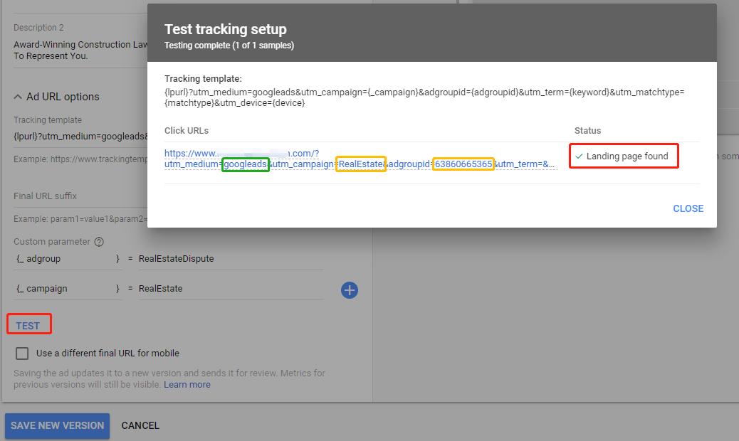 CRA - Google Ads Landing Page