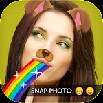 Snap Photo Doggy Face Icon