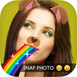 Snap Photo Doggy Face Icon