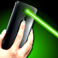 Laser Pointer Simulated 100 2 X Beams Red Blast APK
