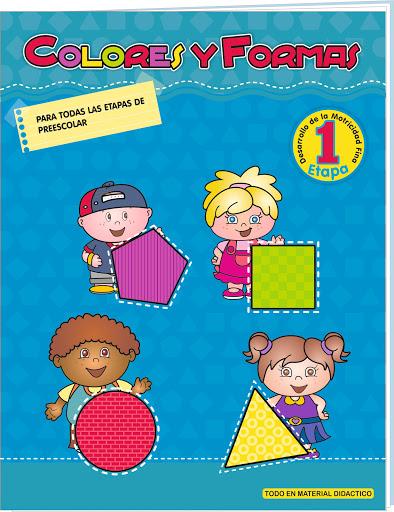 cuaderno colores y formas 1 etapa