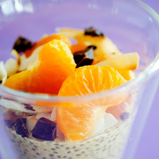 Orange Chia Seed Breakfast Pudding