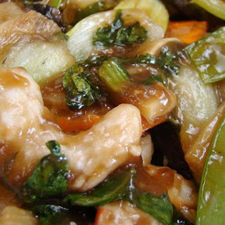 Ginger Shrimp and Pepper Stir Fry