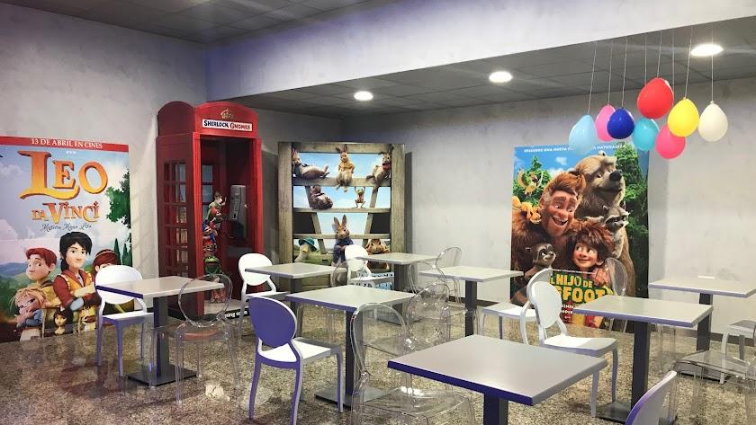 Espacio reservado para cumpleaños en Cines Monumental.