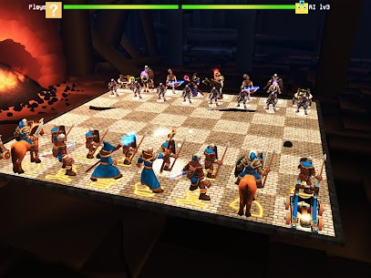 Chess 3D Free : Real Battle Chess 3D Online 9