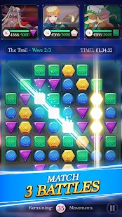 Puzzle Fantasy Battles - Match 3 Adventure Games Screenshot