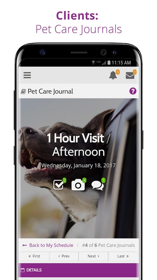 Precise Petcare: Software for Pet Sitters- screenshot