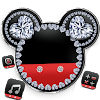 Diamant Mickey Minnie Valentinstag Thema