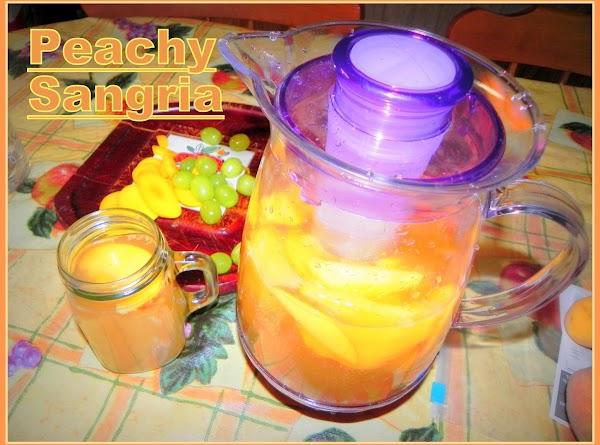 Peachy Sangria Recipe