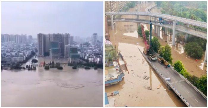 Nước ở đập Tam Hiệp vượt mức cảnh báo, hạ lưu sông Hồng tiếp tục lên cao - Ảnh 4