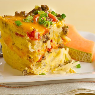 Breakfast Casserole Evaporated Milk Sausage Recipes