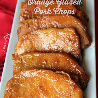Orange Glazed Pork Chops.