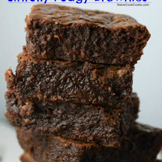 Super Rich Sinfully Fudgy Brownies.