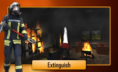 Screenshot 2 Emergency Call – The Fire Fighting Simulation 1.0.1065 APK+DATA hack