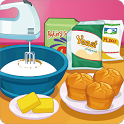 Cooking Pumpkin Donut Muffins icon