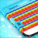 Keyboard Cute Rainbow icon