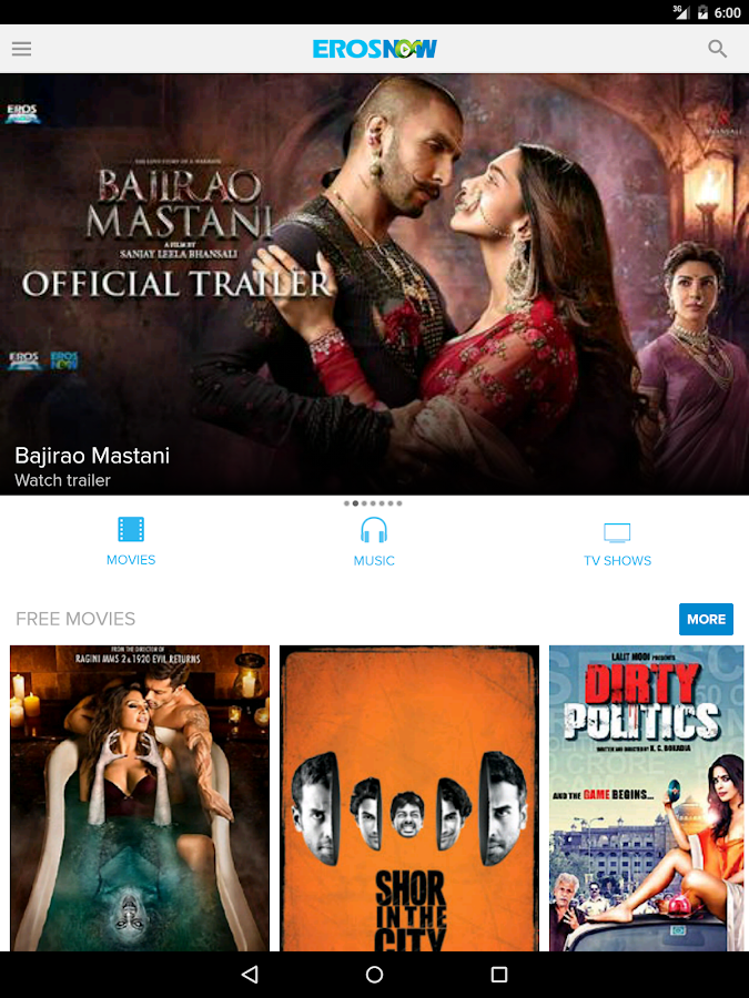 Eros Now: Watch Hindi movies- screenshot