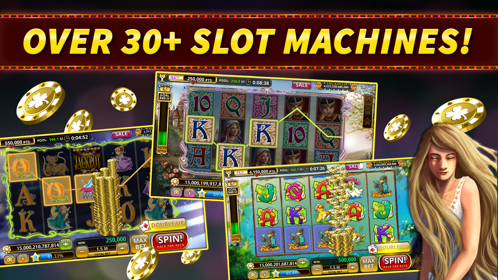 freeware offline slot games