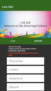 Live 365 Sports - náhled