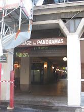 Photo: Wchodzę więc w sąsiedztwo do Passage des Panoramas