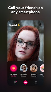 Squad: video chat + screen sharing Screenshot