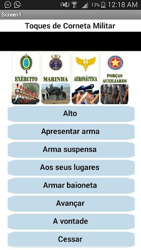 Toques de Corneta Militar