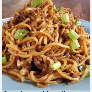Szechuan Spicy Noodle Sauce Recipes.