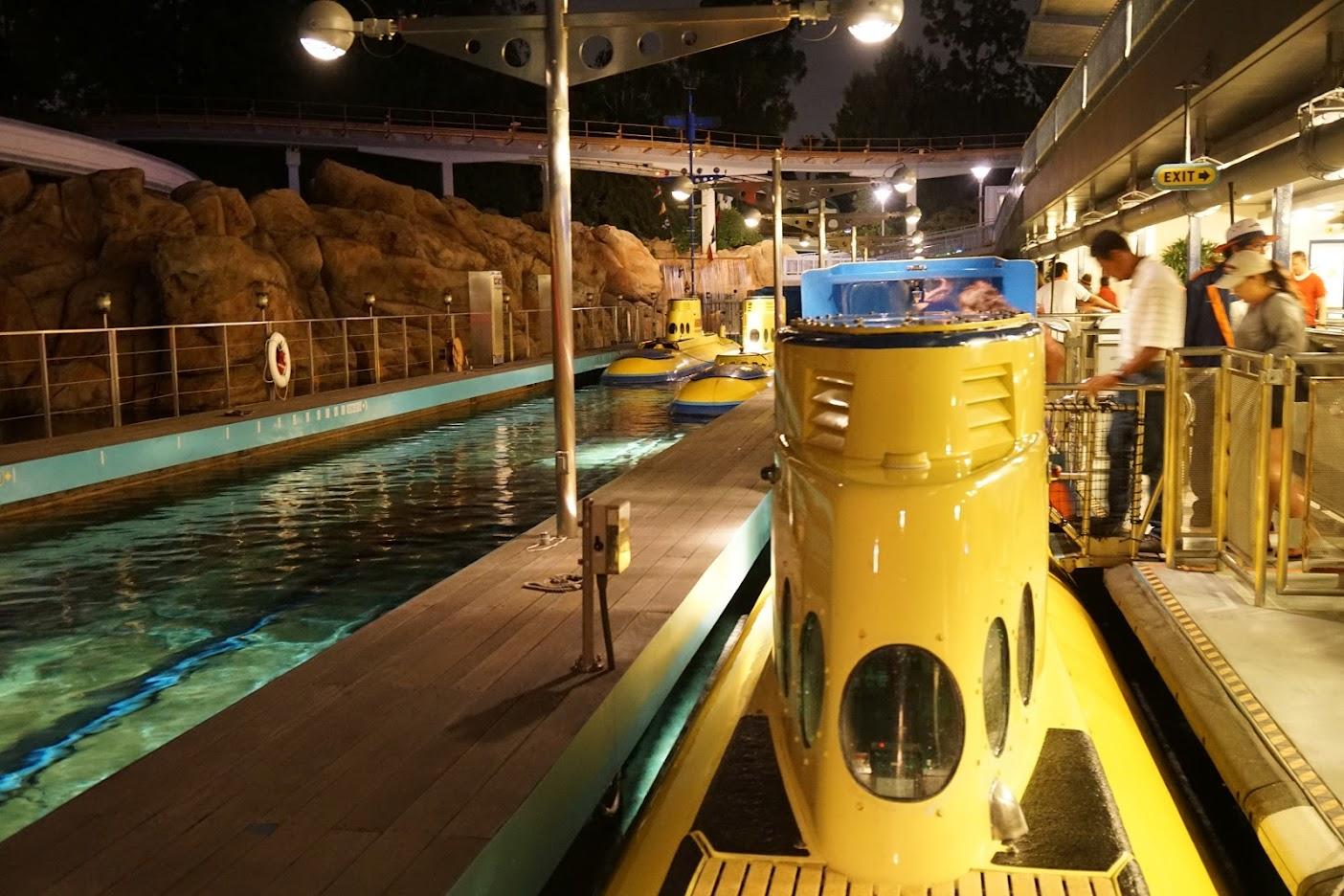 Disney Submarine Nemo