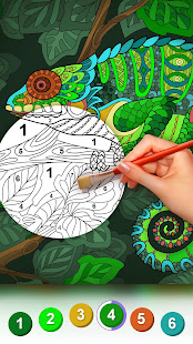 Premium Coloring Book - color by number, coloring Mod