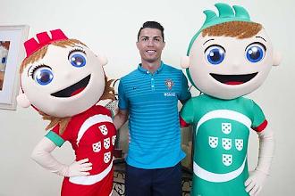 Photo: Lesionado, Cristiano Ronaldo é a grande ausência (foto FPF/arquivo)