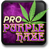 Marijuana Live Wallpaper - Purple Haze