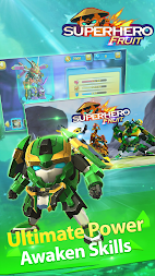 Superhero Fruit Premium: Robot Wars Future Battles APK screenshot thumbnail 4