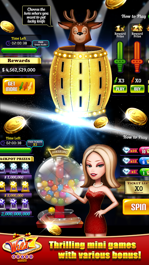 wild 7 casino game free