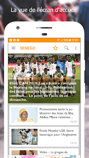 Senego: News in Senegal  screenshots 1