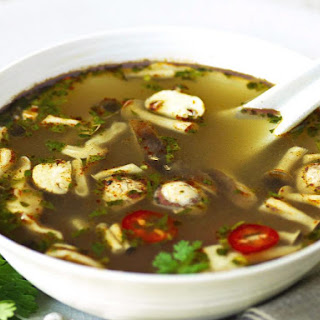 Tom Yum with Mushrooms