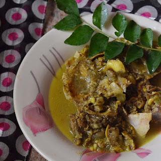 Aatunthala Curry ~ Goat Head Curry.
