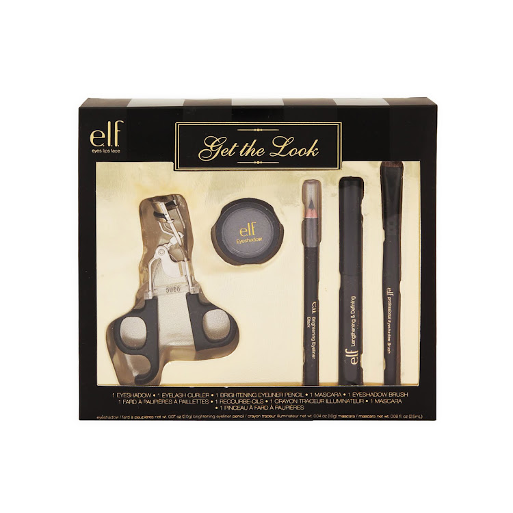 E.L.F. Cosmetics, Elf Get The Look Makeup Kit, 5 Piece Kit by Supermodels Secrets