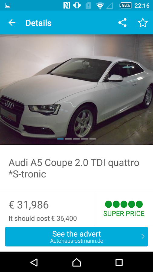 AutoUncle - Search used cars- screenshot