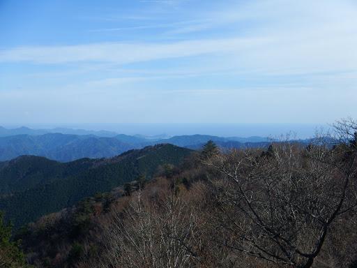 展望台からの眺め(太平谷の高方面)
