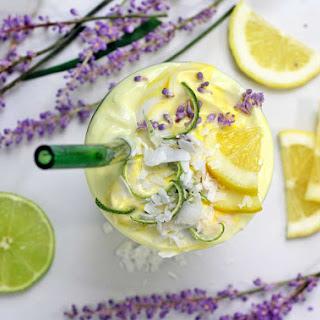 Lemon Lime Lavender Smoothie.