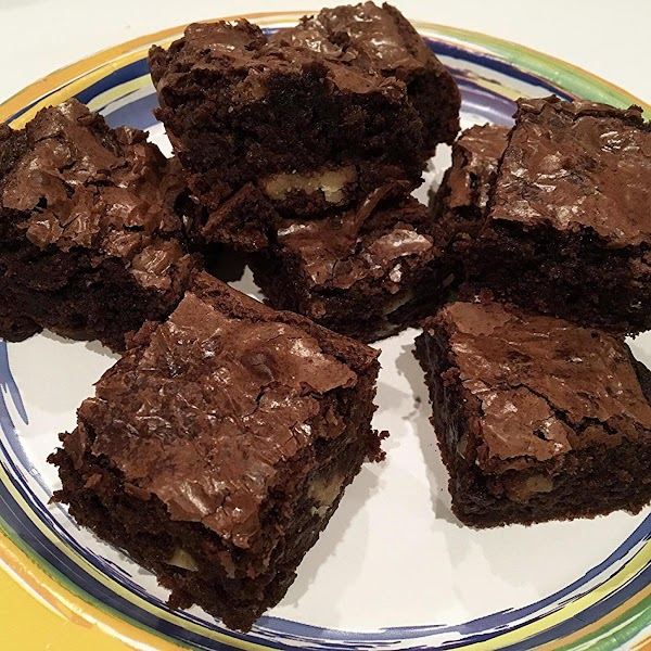 Cool, cut and enjoy these moist, delicious brownies.