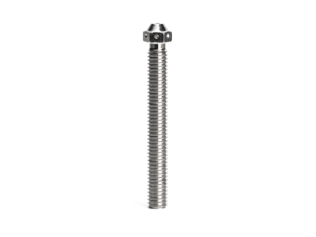 CLEARANCE - E3D SuperVolcano Nozzle - Plated Copper - 3.00mm x 1.00mm