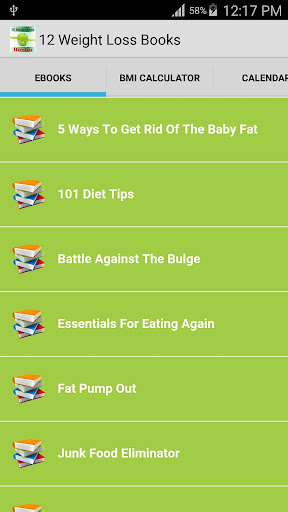 12 Weight Loss Books