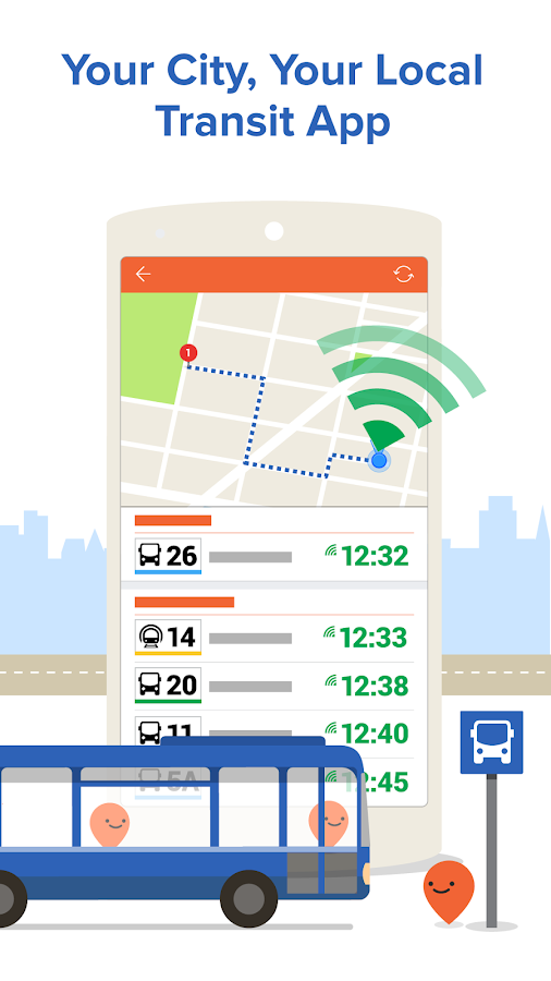 Moovit: Next Bus & Train Info- screenshot