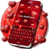 Love Keyboard Theme for Redraw