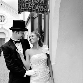 Luci&Alexandra by Klaudia Klu - Wedding Bride & Groom