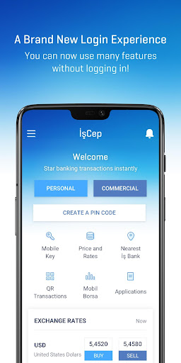 İşCep - Mobile Banking screenshot 1