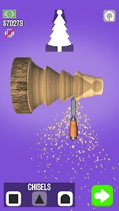 WoodTurning Mod Apk 1.9.1 [Unlimited Money + No Ads] 2
